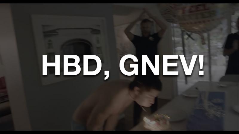 HBD, GNEV!