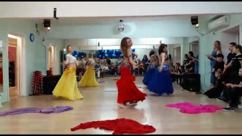 Танец живота продолжающие отчётный концерт 18 05 18