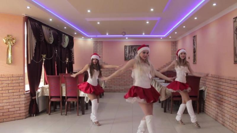 Танец снегурочек. Шоу-балет Vi-Dance город Волгоград.
