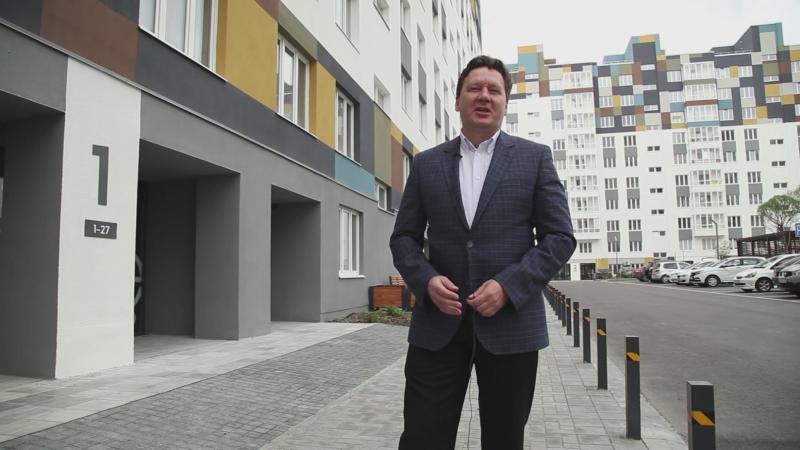 Ролик Презентация нового дома в жилой районе Преображенский