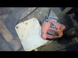 Кофр из железной канистры своими руками