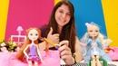 Barbie ile oyun. Ever After High Holly'nin saçını yapıyoruz!