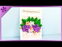 DIY Greeting card for Teachers' Day Birthday ENG Subtitles Speed up 263