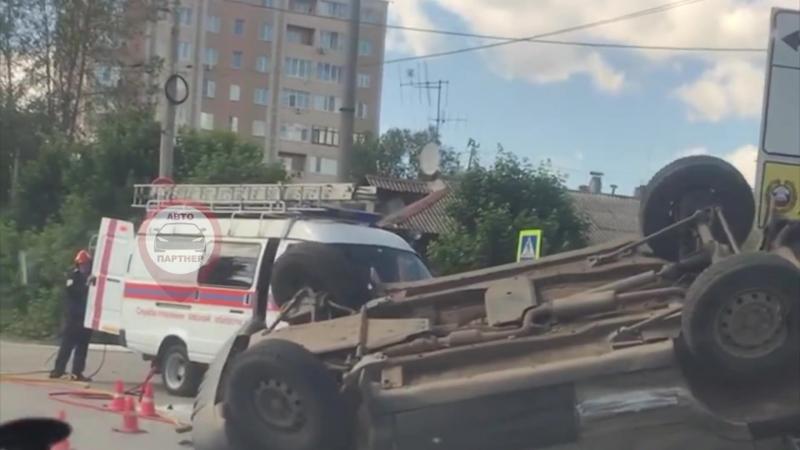 Авария на Суворова с Бубнова