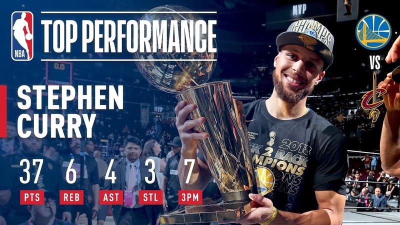 Stephen Curry's 37 Points Helps The Warriors Win The 2018 NBA Title