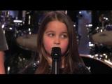 6-Year-Old Aaralyn Screams Her Original Song, Zombie Skin