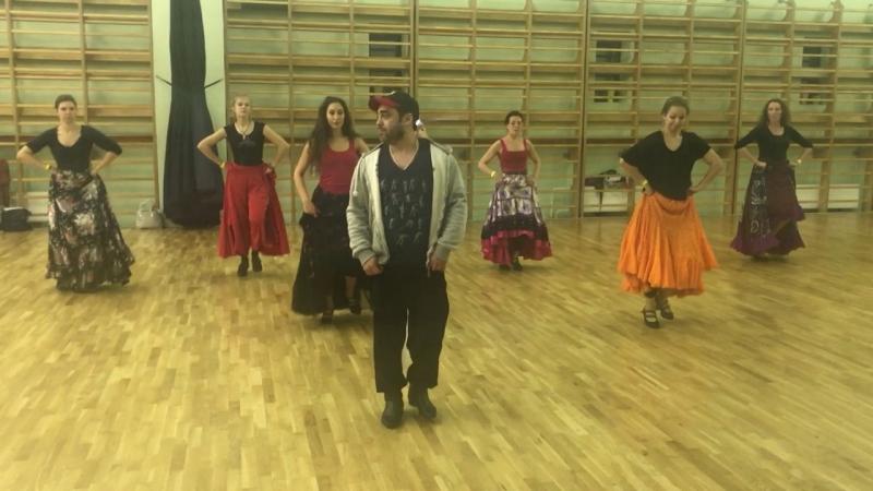 School of folk Gipsy dance Monisto Choreographer Alexander Rubenchik.