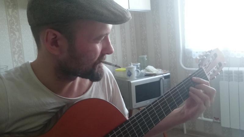 ШОК! Пацан с раена сыграл старую пестню на гитаре. Афигели все! Никто не ожидал.