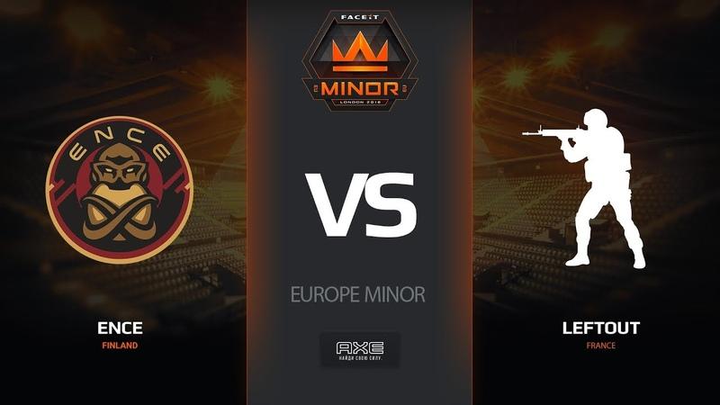 ENCE vs LeftOut, dust2, Europe Minor – FACEIT Major 2018