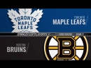 Condensed Games: TOR@BOS 2018-04-14 Playoff R1G2