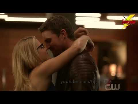 Arrow 6x06  Promises Kept  Oliver, William Felicity scene   Olicity  