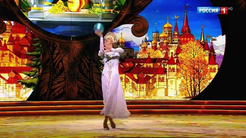 Русский танец из балета Лебединое озеро Александра Солдатова и Юлия Бравикова