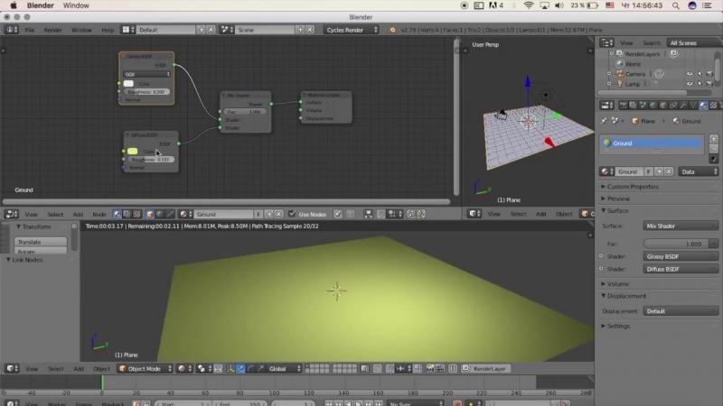 Гоша Дударь Blender 3D моделирование Урок 12 Графические текстуры