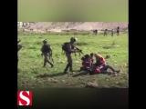Зверство израильских солдат