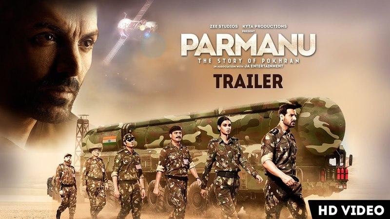 PARMANU: The Story Of Pokhran | OFFICIAL TRAILER | John Abraham, Diana Penty, Boman Irani | 25th May