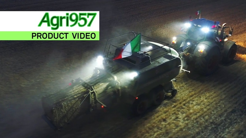 EXTREME STRESS TEST BALING 24 HOURS in ITALY | FENDT 1290 N XD baler 828 Vario | HARD CONDITIONS