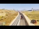 САМЫЙ БЫСТРЫЙ ПОЕЗД В МИРЕ ЭКСПЕРИМЕНТЫ ГТА 5 МОДЫ! ОБЗОР МОДА GTA 5 веселая видео игра как мультик