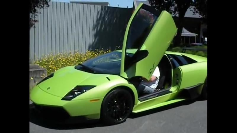 Lime Green Lamborghini Murcielago LP 670-4 SuperVeloce SV