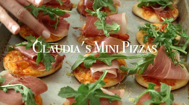 Claudia's Mini Pizzas