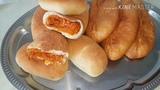 Пирожки с капустой печёные и жареные, цыганка готовит. Gipsy cuisine.