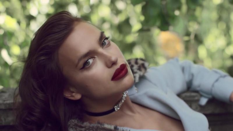 Irina Shayk for Blumarines Fall 2017 Campaign
