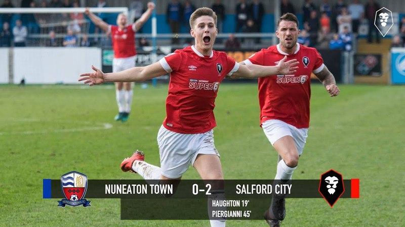 Nuneaton Town 0-2 Salford City - National League North 14/04