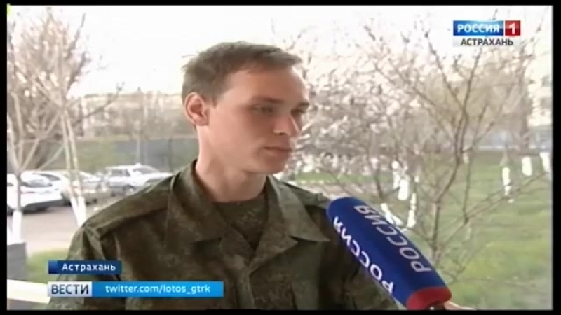 В Астрахани состоялись торжественные проводы первых призывников убывающих для прохождения службы в войсках Росгвардии