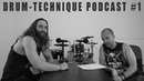 Drum Technique Podcast 1 w/ Eric Morotti (Suffocation) - Heel Toe Technique and Career Advice