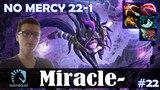 Miracle - Templar Assassin MID   NO MERCY 22-1 + 2x Ultra Kill   Dota 2 Pro MMR Gameplay #22