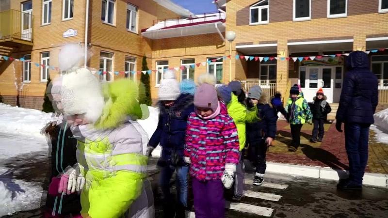 Выпускной - 2018. Детский садик 5. Прогулка Зимняя
