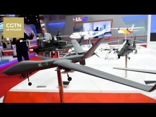 Китайские беспилотники нового поколения Wing Loong II и Cloud Shadow представила компания AVIC на авиасалоне в Дубае