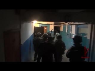 Штурм квартиры в Севастополе.