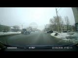 Внезапный Lexus на Куйбышева, Омск