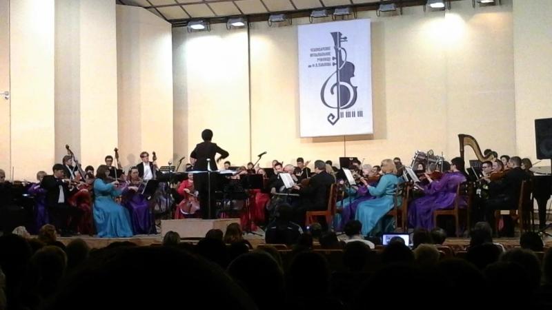 Наталья Яклашкина в Чебоксарском музыкальном училище им. Ф. Павлова