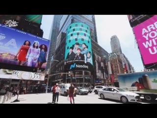 SHINee 10th Anniversary support project PART - 7 Nasdaq Marketsite in Times Square of New York City