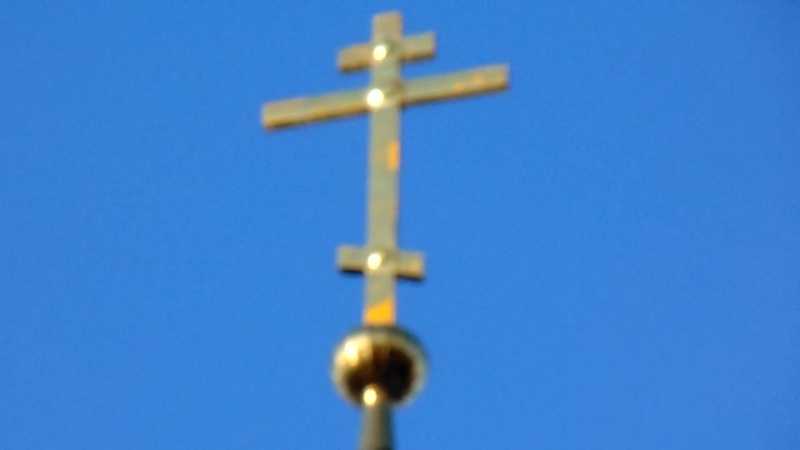 Звон колоколов Храм Иерусалимской Божией Матери! Белый Городок!