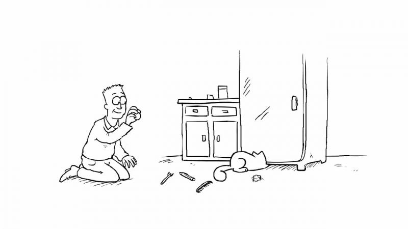Hidden Treasure - Simon's Cat _ SHORTS 15