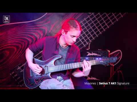 Mayones Setius AK1 7 Acle Kahney Signature — Tesseract 'Dystopia' Playthrough