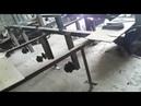 Гусеничная платформа ТСН 74 мини на колесах от УАЗа