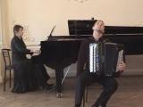 Richard Galliano - New York Tango. Yulia Tarasevich(piano),A.Barakov(accordeon)