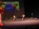Выступление дочери Фидалии на конкурсе в г.Уфе по восточным танцам !!!