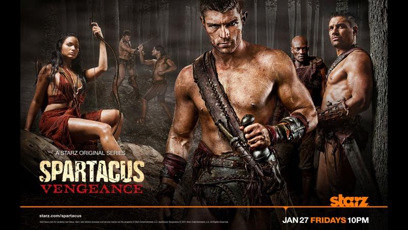 Спартак: Месть (Spartacus: Vengeance) - (2 сезон)