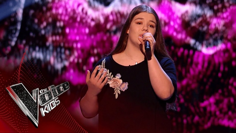 Lola Performs 'Like I'm Gonna Lose You' Blinds 3 The Voice Kids UK 2018