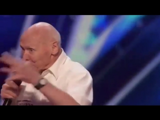 82-Year-Old Man Covers DROWNING POOLS Bodies on Americas Got Talent