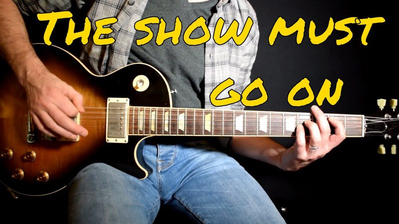 Queen - The Show Must Go On cover
