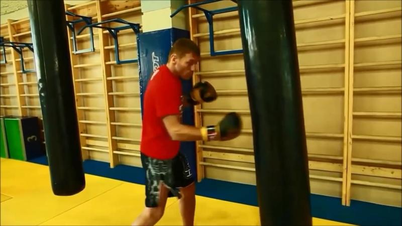 Основы работы на мешке Школа бокса Руслана Акумова