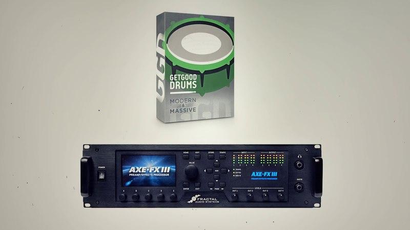 GetGood Drums Modern Massive Axe Fx III 1h Song Challenge