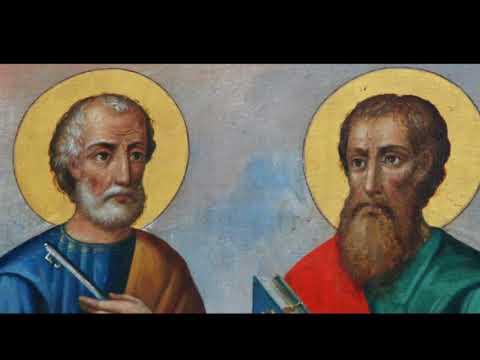 СВЯТЫЕ АПОСТОЛЫ ПЕТР И ПАВЕЛ. ВАЛЕРИЙ МАЛЫШЕВ