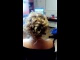 Причёска высокий Пучек!