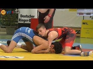 RINGEN   DM 2018 Junioren (Gr./Rö.) - 55kg Finale 3+5